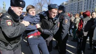 Demonstracja w Moskwie