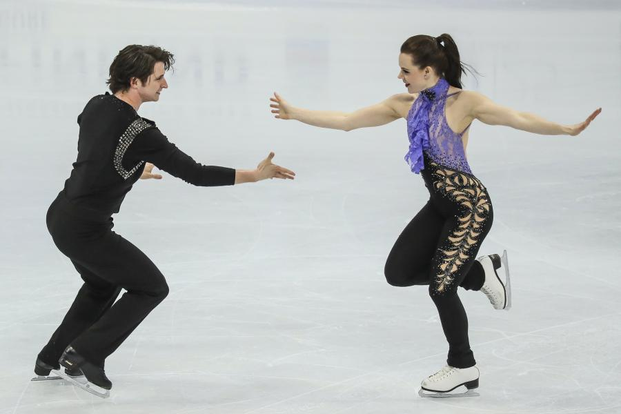Tessa Virtue i Scott Moir