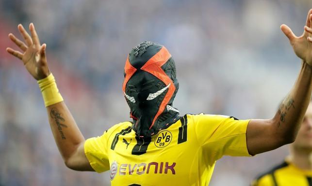 Pierre-Emerick Aubameyang przez maskę może mieć spore problemy