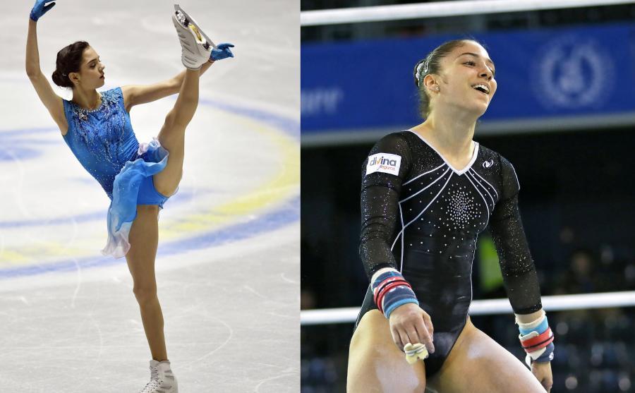 Evgenia Medvedeva i Paula Raya