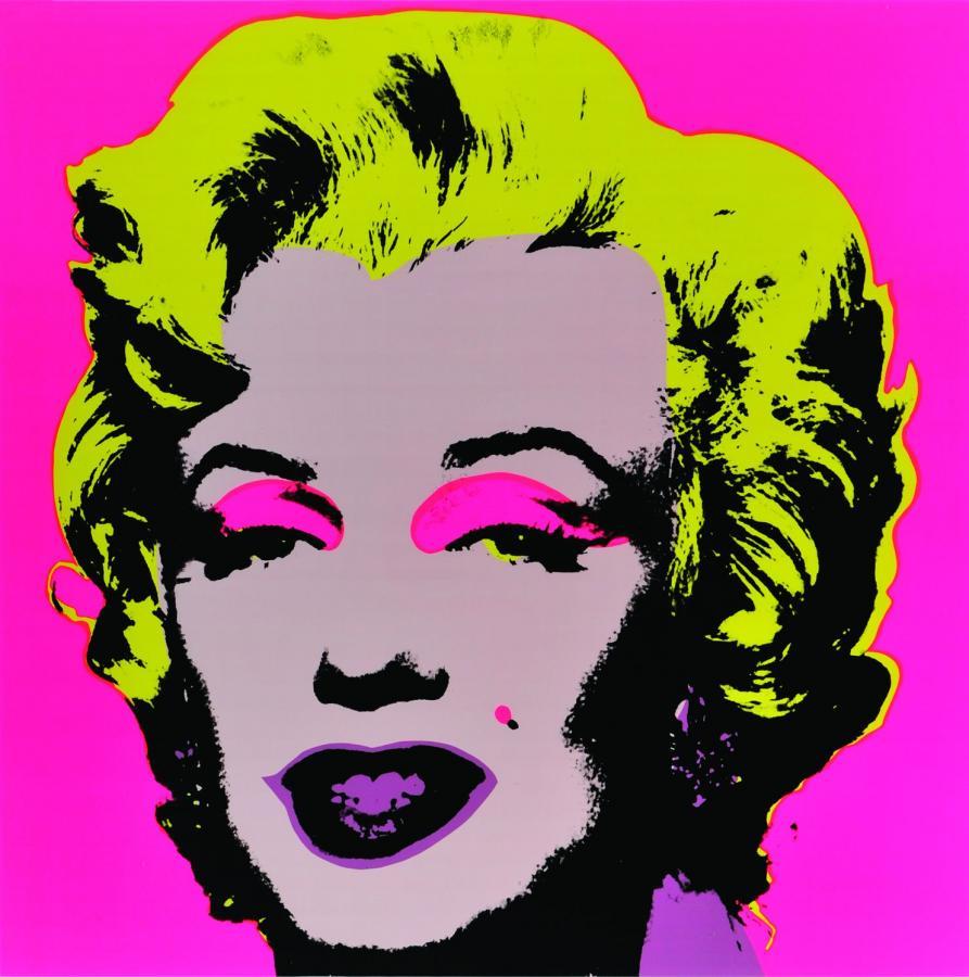 Andy Warhol, Marilyn, sitodruk