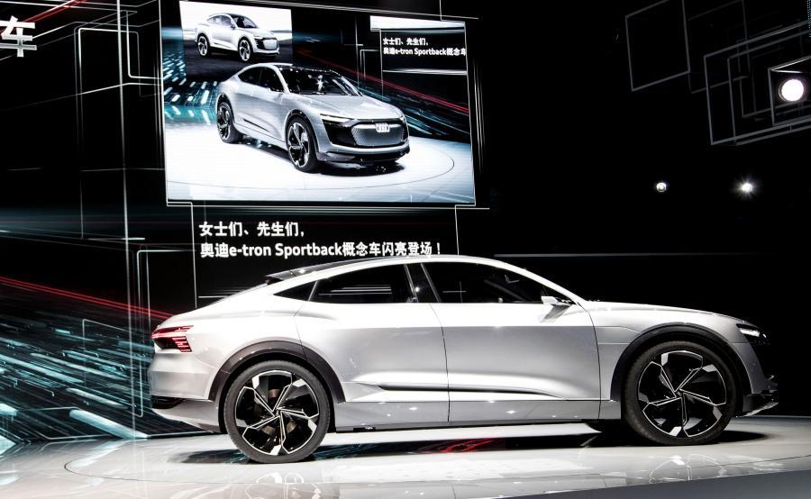 Audi e-tron Sportback do produkcji w 2019 roku
