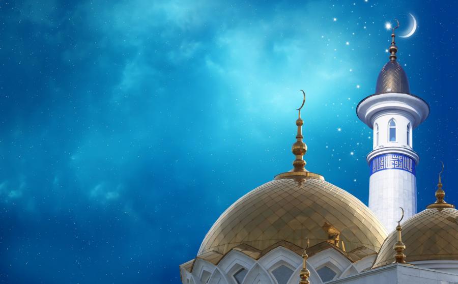 Meczet nocą