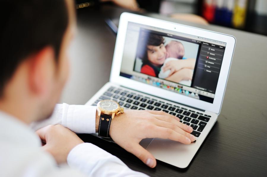 Zdjęcia dzieci w Internecie