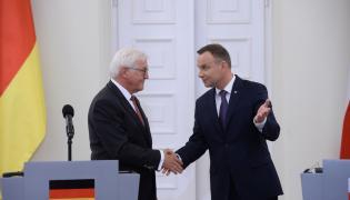 prezydent Andrzej Duda i prezydent Frank-Walther Steinmeier