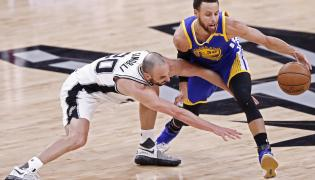 Stephen Curry i Manu Ginobili