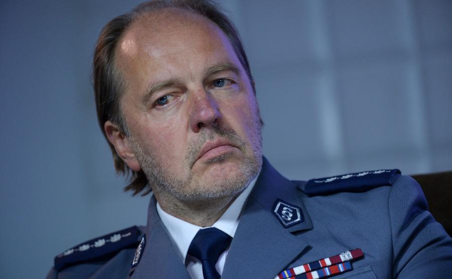 Rafał Jankowski, szef NSZZ Policjantów