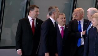 Donald Trump przepycha premiera Czarnogóry