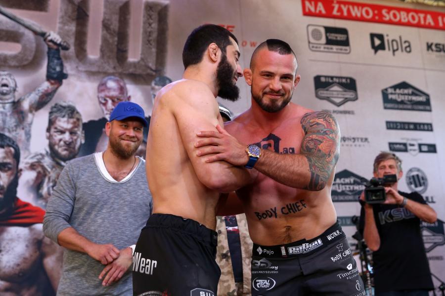 Mamed Khalidov i Borys Mańkowski