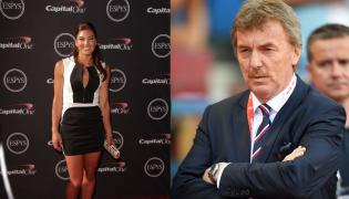 Hope Solo i Zbigniew Boniek