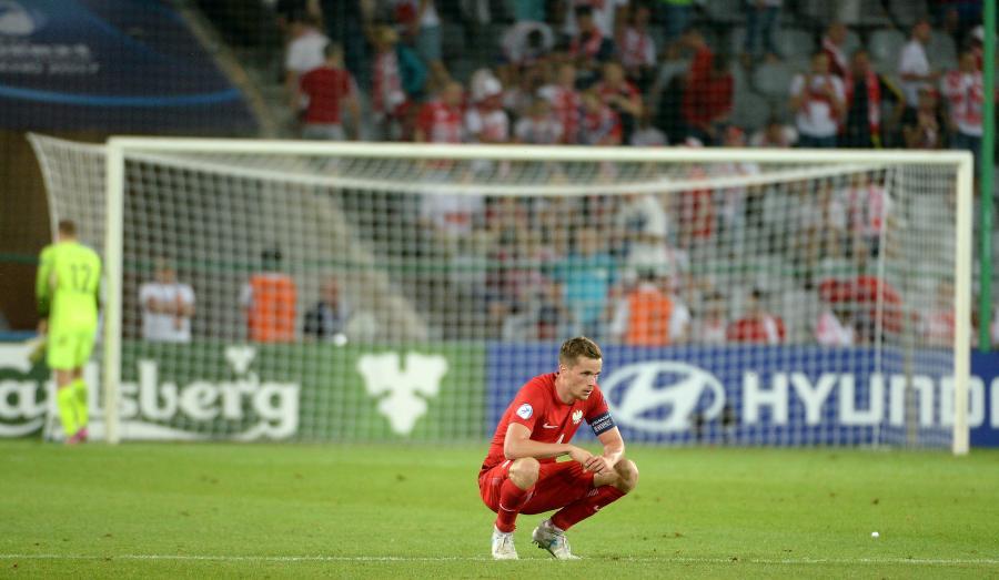 Tomasz Kędziora po przegranym meczu z Anglią w grupie A piłkarskich mistrzostw Europy U21