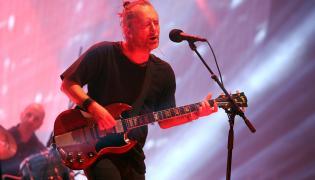Radiohead na Open'er 2017; fot. Joanna Combik