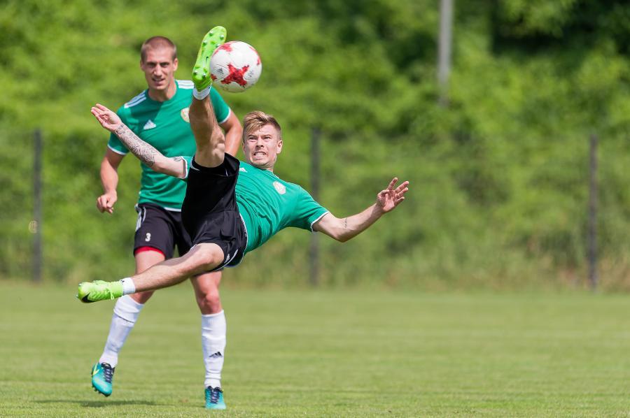 Piotr Celeban i Jakub Kosecki