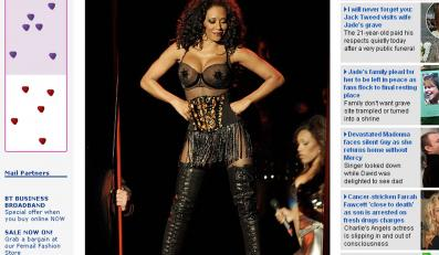 Mel B została striptizerką