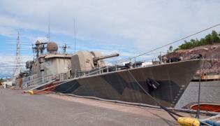 Korweta fińskiej marynarki wojennej
