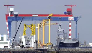 Stocznia STX France w Saint Nazaire