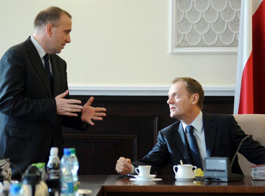 Schetyna: nie chcę zastąpić Tuska