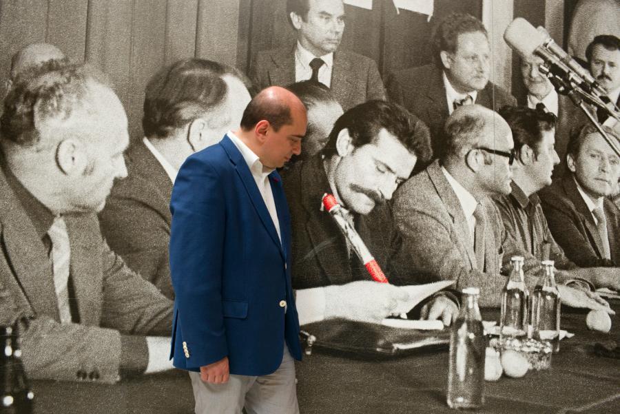 Basil Kerski; fot. Maksymilian Rigamonti