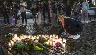 Miejsce ataku w fińskim Turku