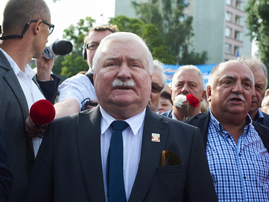 Były prezydent RP, przywódca Solidarności Lech Wałęsa