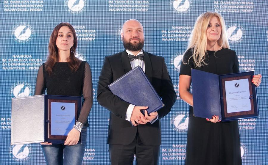 Nagroda im. Dariusza Fikusa dla Magdaleny Rigamonti