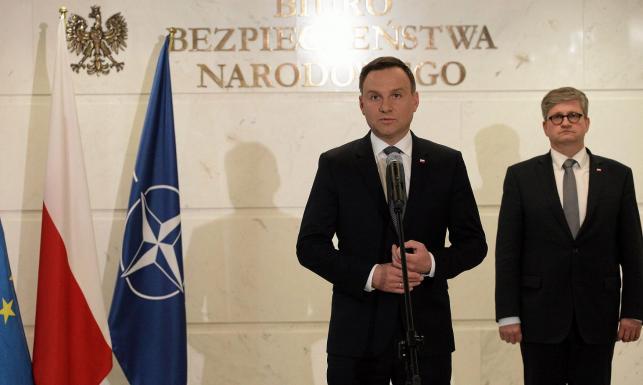 Prezydent zdradza, kto stoi za atakami na niego. Rzecznik Andrzeja Dudy wyjaśnia słowa swojego szefa