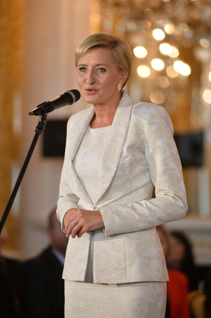 Prezydentowa Agata Duda
