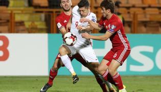 Sargis Adamyan, Gor Malakyan i Robert Lewandowski