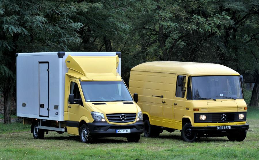 Mercedes-Benz T2 był produkowany w latach 1967-1996. Aktualny odsłona Sprintera została zaprezentowana w 2013 roku