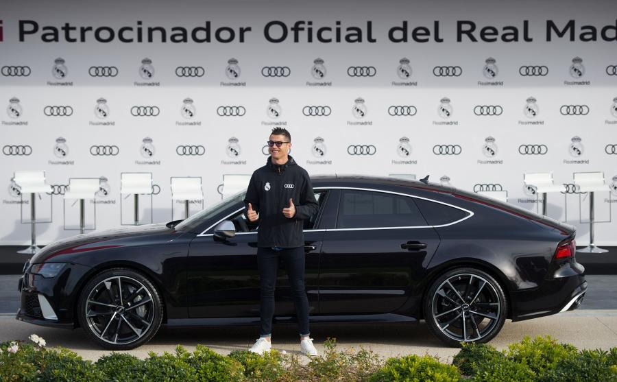 Audi RS 7 Sportback performance to najnowsze auto Cristiano Ronaldo