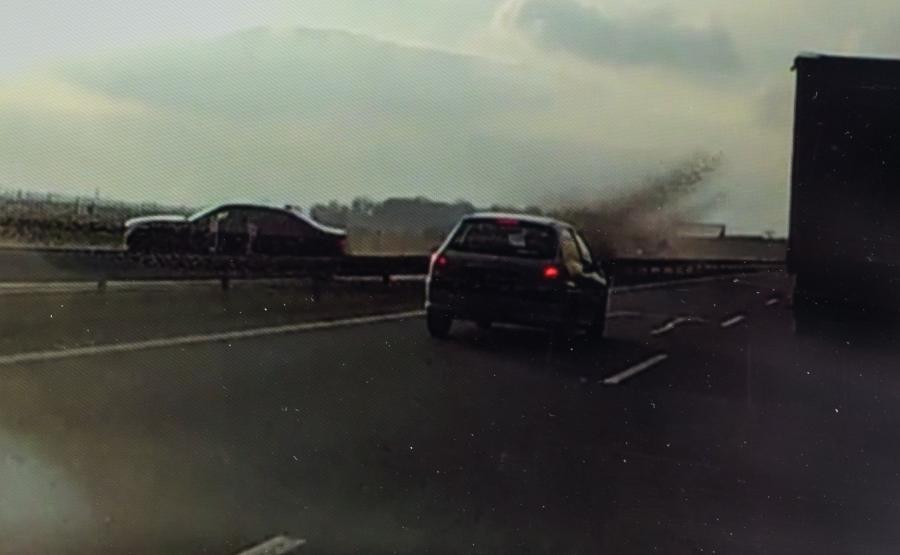 Kadr z wideo świadka
