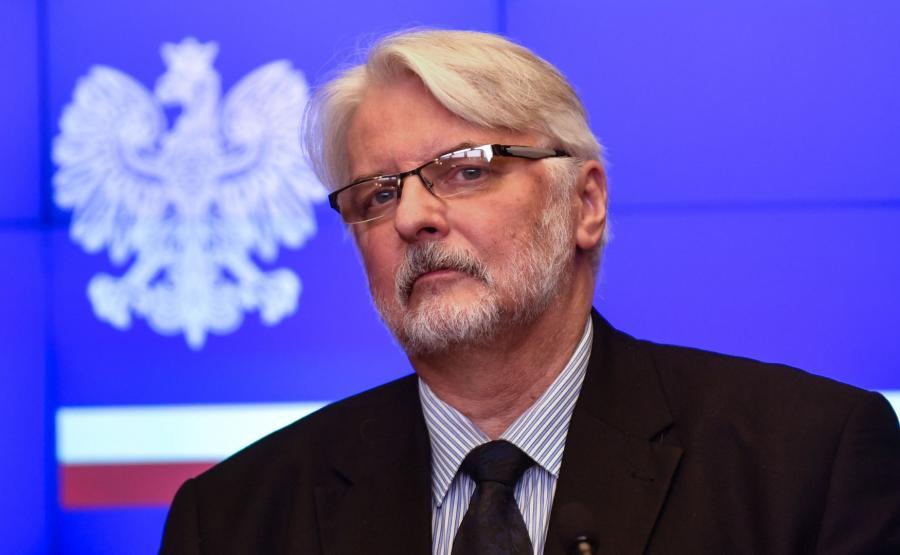 szef MSZ, Witold Waszczykowski