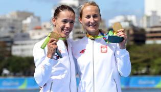 Magdalena Fularczyk-Kozłowska i Natalia Madaj-Smolińska