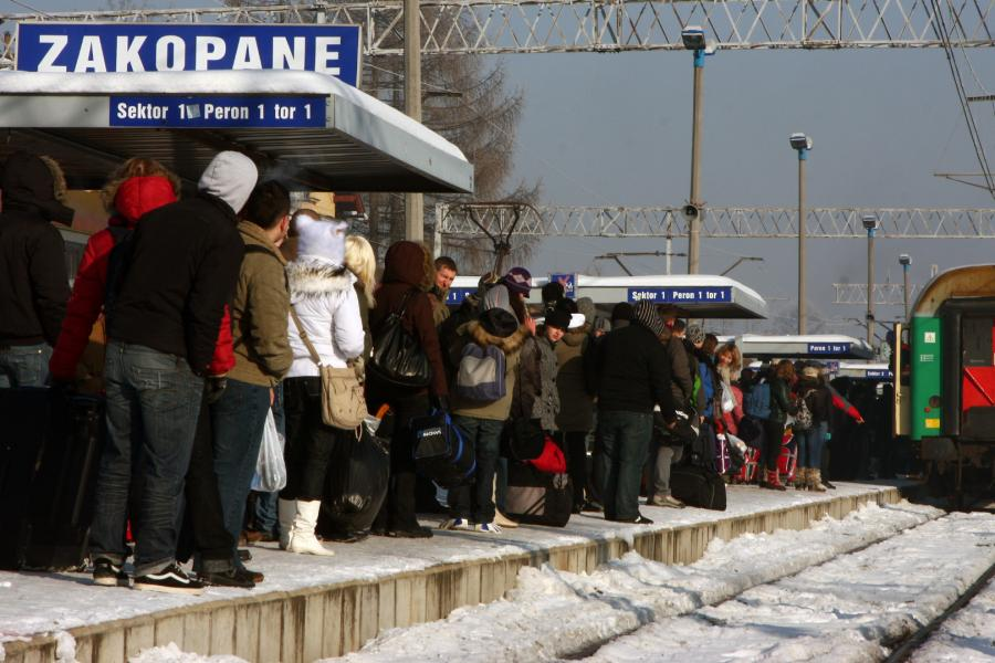 Dworzec w Zakopanem
