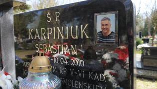 Grób Sebastiana Karpiniuka