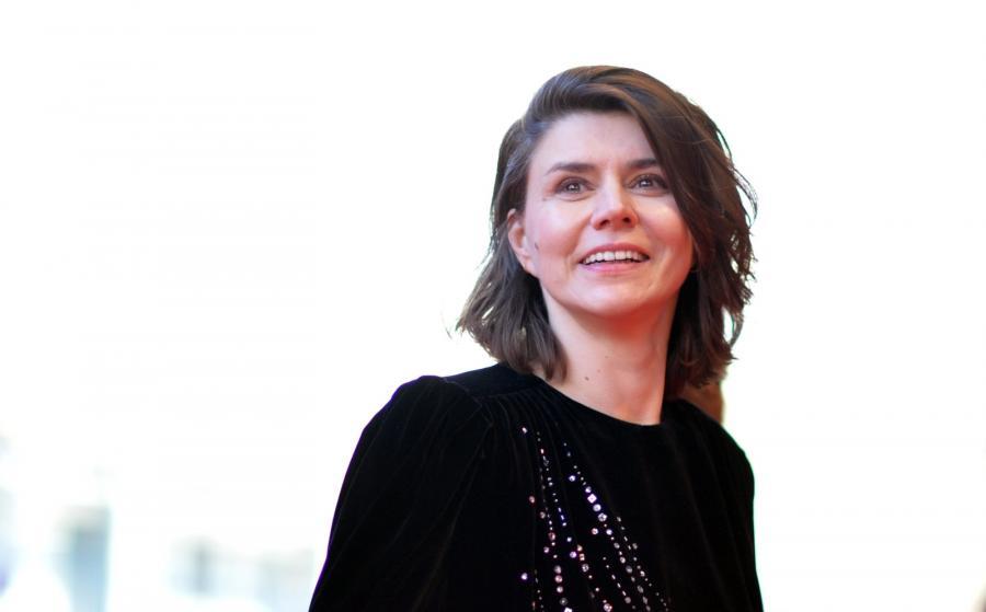Małgorzata Szumowska na festiwalu w Berlinie