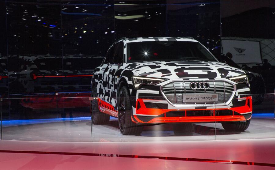 Audi e-tron jeszcze w 2018 roku w sprzedaży