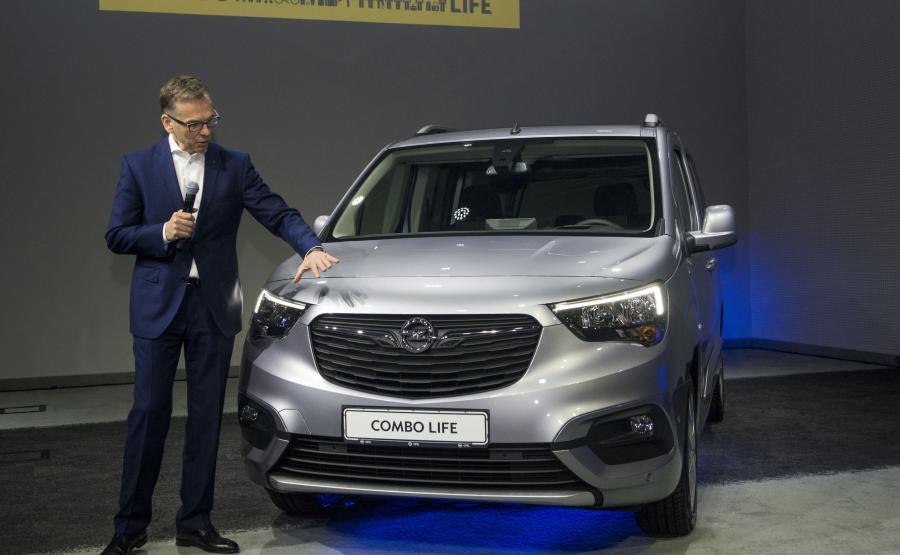Wojciech Mieczkowski, dyrektor generalny Opel Poland i nowe Combo Life