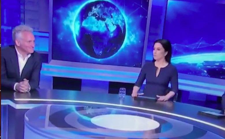 Jarosław Kret i Beata Tadla w studio Nowa TV