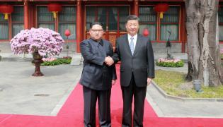 Wizyta Kim Dzong Una w Chinach