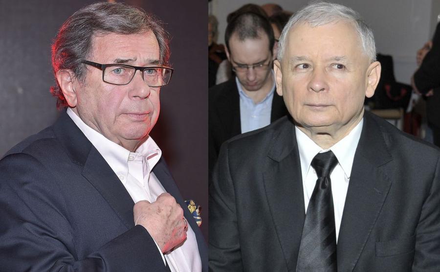 Janusz Gajos, Jarosław Kaczyński