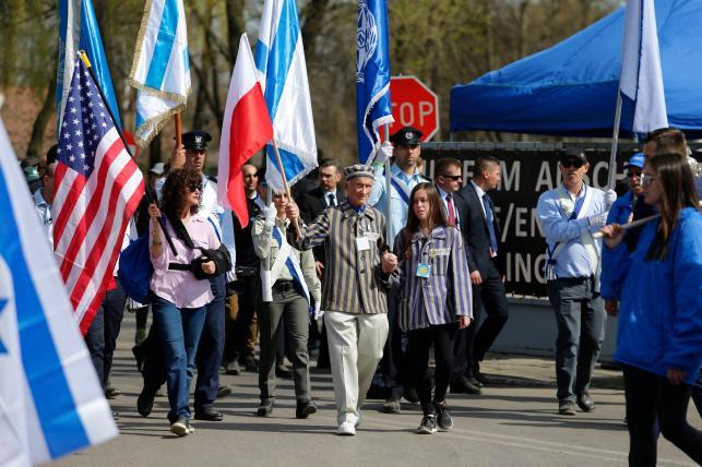 Byli więźniowie wzięli udział w Marszu Żywych