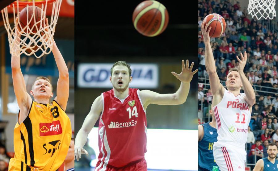 Michał Kolenda, Marcel Ponitka i Aleksander Dziewa