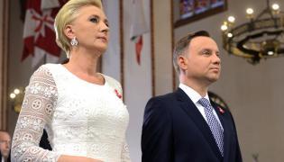 Agata Kornhauser-Duda i prezydent Andrzej Duda