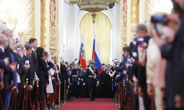 Nowa kadencja Władimira Putina rozpoczęta, wśród gości Seagal i Schroeder. ZDJĘCIA z uroczystości