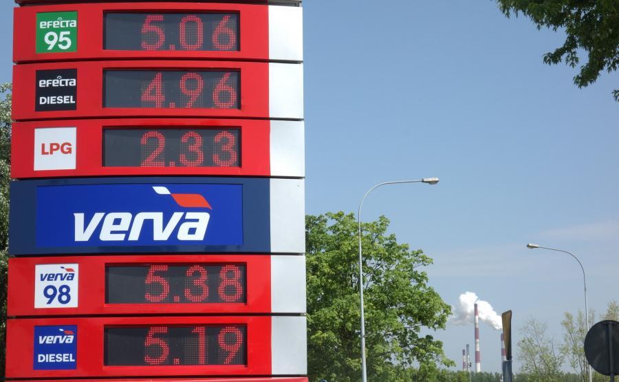 Stacja paliw w Płocku - 11.05.2018