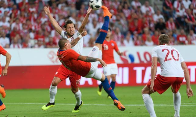 Chile przetestowało kadrę Nawałki. Mecz zakończył się remisem