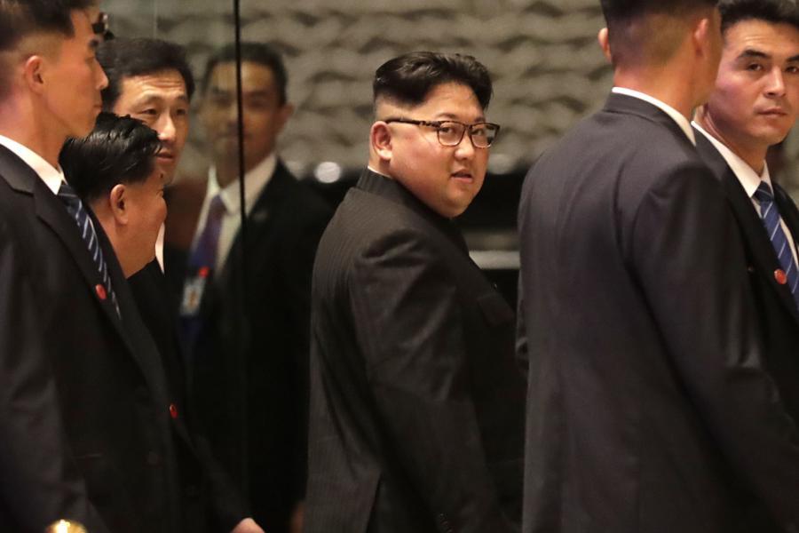 Kim Dzong Un zwiedza Singapur