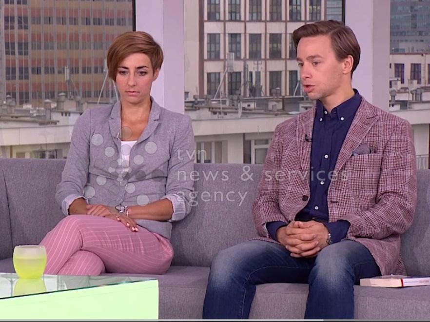 Marta Żysko-Pałuba i Krzysztof Bosak