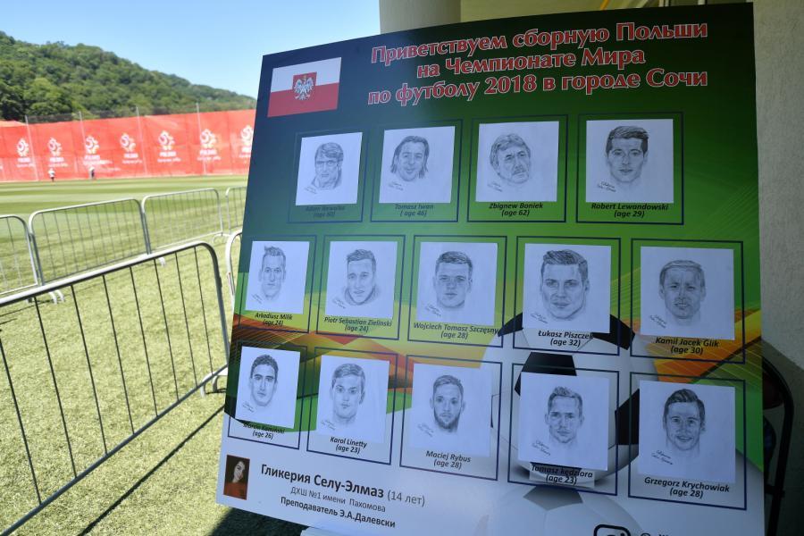 Reprezentacja Polski okiem organizatorów piłkarskich mistrzostw świata